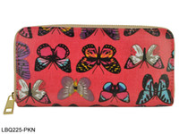 Wholesale New Hot Selling Pink Butterfly Purse Girl s Preppy Style Cartoon PU Small Bag LBQ225