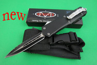 Folding Blade microtech knives  free shipping! new MICROTECH Outdoor Camping Troodon knives with blade 440C