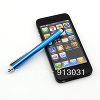 Wholesale Universal Capacitive Screen Stylus Touch Pen For Touch Screen For Iphone Ipad Tablet pc Cell Phone Mobile Phone