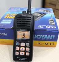 Wholesale ICOM M33 VHF Marine walkie talkie Water Proof