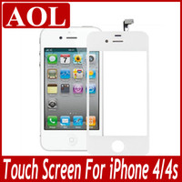 Wholesale Complete Digitizer Touch Screen Replacement Part Black and White For iPhone G S
