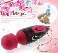 Sauna Therapy magic bullet - Mini AV Magic Massager Stick Vibrating Egg Bullet vibrator Adult Toys Sex products for Women Body Massage