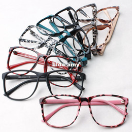 trendy women leopard print glasses frame ultra light eyeglasses frame decorate eyes frame glasses without lens free shipping