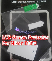 Wholesale Self Adhesive mm LCD Screen Protector Cover Flim for Nikon D800 camera