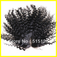 8 Lace Closure Yes Cheap lace closure piece NATURAL COLOR can be dyed kinky curl 3.5x4 top closure Bohemian virgin hair closure bleached knot