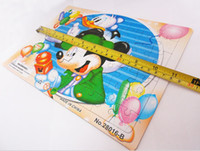 Wholesale Cartoon Animal Jigsaw Develop Intelligence Educational Toys Children Gifts Games Puzzles