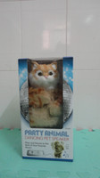 Wholesale electronic pets Party Animal Dancing pet speaker dancing cat plays and dances baby toy