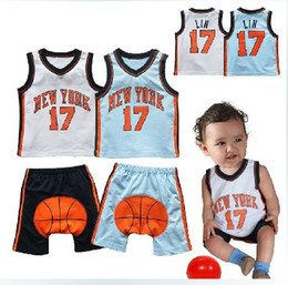 Wholesale 2013 NEW baby boy sport suits boys basketball set clothes summer clothing for baby boys
