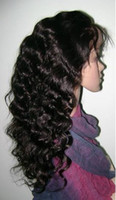 Wholesale Lace Front Wig B Body Wave Indian Remy Human Hair Baby Hair French Lace Wig online for sale High Quality A