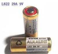 battery garage door - free ship A V alkaline battery Garage Door Opener L32 L822 car remote control battery