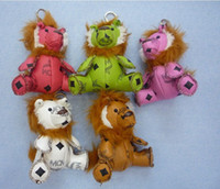 Wholesale 5Color Lovely Cute Keychains for bags key chain MCM cool keychains Pretty accessories