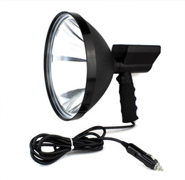 Wholesale High Quality W HID inch Handheld Spotlight For Agriculture Hunting Camping Boating Rescue Mission Emergency Lighting Q2017A