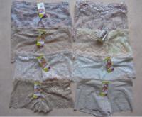 Wholesale Wholesaler new Hot Women Sexy Lace Boxers Boyshorts Jacquard Natori Bliss Bloom Lace Brief Panty Shorts Knickers