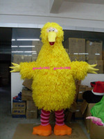 Wholesale yellow bird cartoon costume Cartoon Clothing Big bird Mascot Mascot Costume Cartoon Character Costumes mascot costume Fancy Dress Party Suit