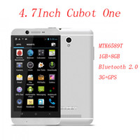 "Cubot 4.7 Android CUBOT One 4.7"" IPS 3G Smartphone Android 4.2 MTK6589T Cortex A7 Quad Core 1.5GHz 5MP 13MP Dual Shoot 1GB RAM+8GB ROM Bluetooth GPS"
