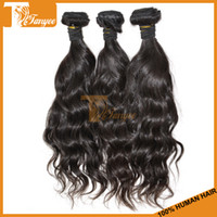 Wholesale 5A Unprocessed Virgin Brazilian Peruvian Malaysian Indian Remy Hair Weft Natural Wave Cheap Hair Extensions Human Hair Weave Can Dye
