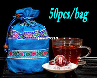 Wholesale Extra flavor cooked Pu er tea ethnic bag loaded