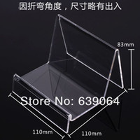 Wholesale High grade one layer acrylic display case for wallet handbag cosmetic boutique and high quality
