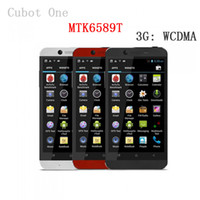 "Cubot 4.7 Android DHL Free Shipping CUBOT One 4.7"" IPS 3G Smartphone Android 4.2 MTK6589T Cortex A7 Quad Core 1.5GHz 1GB RAM+8GB ROM Bluetooth GPS"