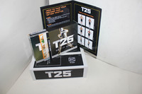 Cheap 150 piece Focus T25 Workout Alpha Beta Core 10dvd set US version with resistant bands hot item free shipping