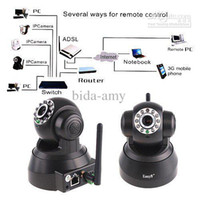 Wholesale Free Express Shipping Foscam Wireless WiFi IP Internet Network Pan Security Camera Two way