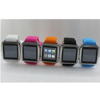 Wholesale Galaxy Gear Touch screen smart bluetooth Wrist Watch phone MQ588L Sync Iphone Android Phone avoid loss phone