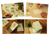 Wholesale Fancy plant greeting card mm box USD box