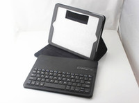 Wholesale Removable Wireless Bluetooth pc Keyboard Case Cover Stand for New Apple iPad Air iPad