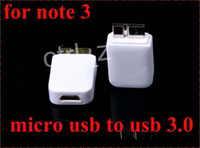 Charger Adapter For Samsung  FOR Samsung Note 3 cable Micro 5pin USB 3.0 Adapter Connector Contactor Data Cable Link Line Adapter For Samsung Galaxy Note3 N9000 N9006