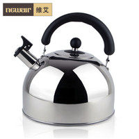 Wholesale 5l stainless steel water whistling kettle electromagnetic furnace