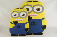 Wholesale For mini ipad minions ipad mini case minions ipad soft case mini ipad minions silicone Minion d cartoon case for ipad mini ipad pc