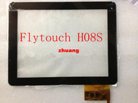 Wholesale Free Tracking quot inch touch screen digitizer touch panel glass for Flytouch H08S Android MB9703 tablet DPT L3456B A00