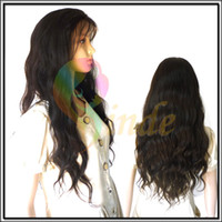 Wholesale Custom made Virgin Human Hair Natural Wave Silk top Full Lace Wig