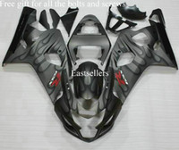 Wholesale Free gift for all the bolts and screws Complete fairing kit for GSXR K4 GSXR600 GSXR750 Gray Black G3D