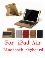 best ipad wireless keyboard case - Best Quality Removable colors Wireless Bluetooth Tablet pc Keyboard Case Cover Stand for New Apple iPad Air iPad