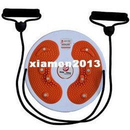 Wholesale Indoor abs magnetic therapy stone home twister plate with rope twist waist device thin waist leg