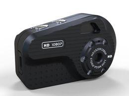 Cámara de visión nocturna 1080P S3 mini cámara del cuerpo del metal del respaldo para tarjeta Micro SD de 16 GB como máximo con la función de visión nocturna
