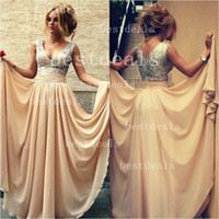 2014 Prom Dresses Vestidos De Noiva Exquisite Sequins With S...