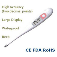 Wholesale High Accuracy Two Decimal Points Waterproof Large Display Multi function Digital Basal Body Thermometer DT Ovulation Test