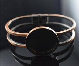 Free shipping,25mm Round Bangle Bracelet Blank Base Tray Bezel Cabochon Setting Jewelry accessories