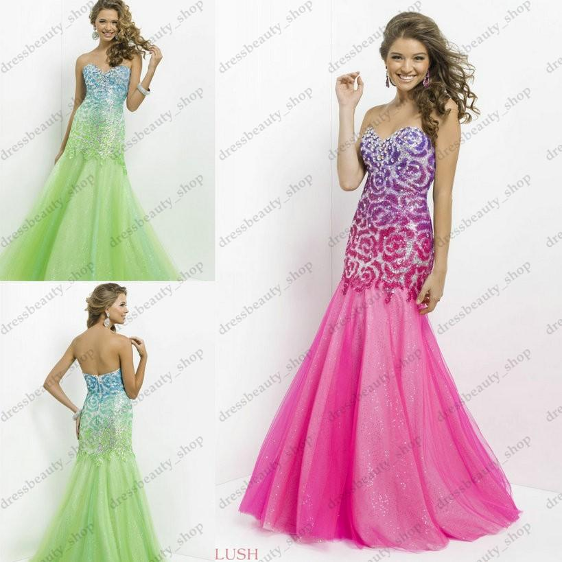 Mermaid Prom Dresses 2016 Under 200 - Long Dresses Online