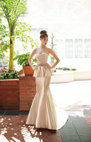 Trumpet/Mermaid Reference Images Sweetheart 2014 Demetrios 3199 Wedding Dresses Sweetheart Crystal Beaded Sequin Ruching Bridal Gowns Sleeveless Zipper Court Train Bridal Dresses