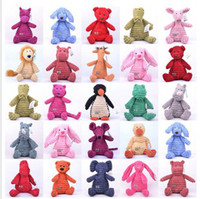 Wholesale Jellycat Baby Toys Plush Toy Jelly Cat Creative Animal Stuffed Plush Colorful styles to Choose CM inch T01