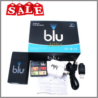 Wholesale Blu Starter E cig Kits Electronic Cigarette Starter Rechargeable Kits with Adapter USB cable blu Starter Flavor Cartridges attire
