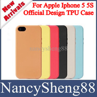 Wholesale Fashion Super deal Official Design NO LOGO TPU Gel Skin Cover Case for Iphone5 Iphone G S Mini Order IP5