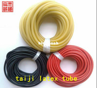 Wholesale Highquality Specials Taichi slingshot hunting natural latex tube catapults rubber latex tube stretch elastic tube m
