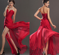 Sexy Red Formal Sweetheart Prom Pageant Dresses 2014 Spring ...