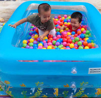 Wholesale Colorful Ball Fun Ball Soft Plastic Ocean Ball Baby Kid Toy Swim Pit Toy