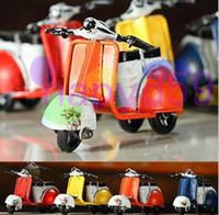 Wholesale free ship Classic retro mini motorcycle model motorbike toy shoot props bar furnishings accessories ornaments crafts model