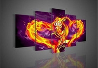 Wholesale Heart shaped Hot selling Handcraft Modern Wall Deco Oil Painting on Canvas no frame D146 PC
